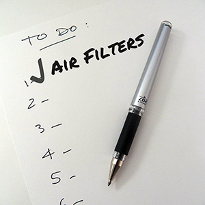 Air Filters - To Do List | Air Filter Replacement - Image